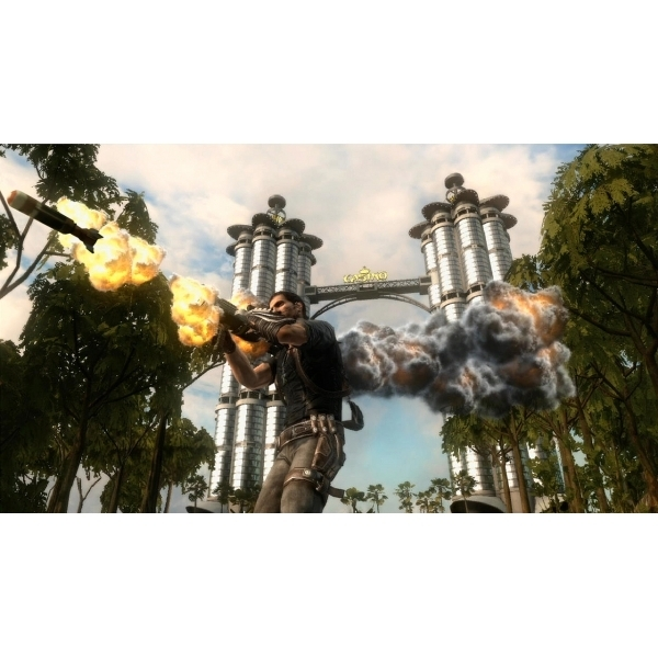 Ultimate Action Triple Pack (Tomb Raider/Just Cause 2/ Sleeping Dogs) Xbox 360 Game - Image 2