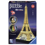 Eiffel Tower Building 216 Piece 3D Jigsaw Puzzle