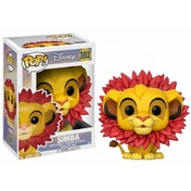Simba Leaf Mane (Disney The Lion King) Funko Pop! Vinyl Figure