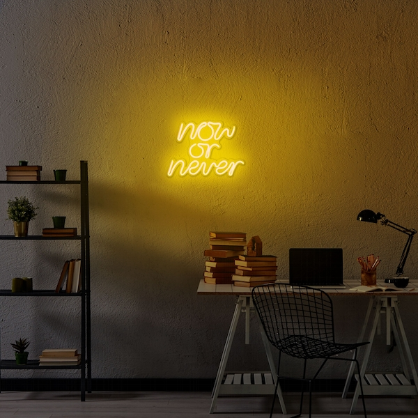 Now or Never - Yellow Yellow Wall Lamp