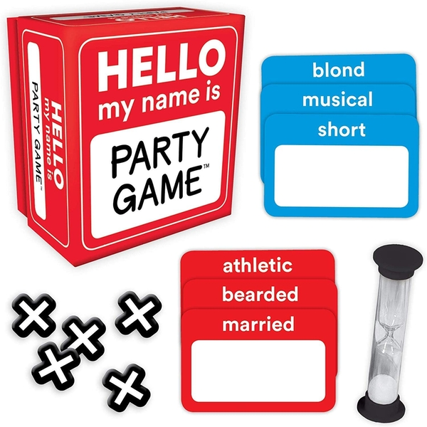Hello My Name Is Card Game
