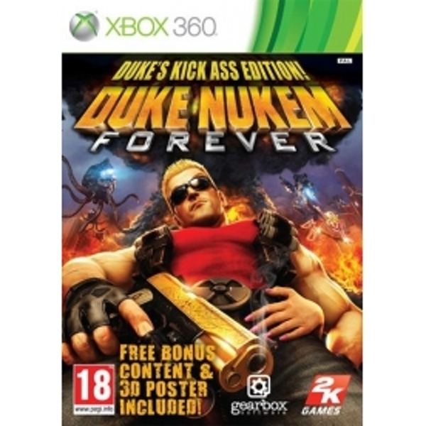Duke Nukem Forever Kick Ass Edition Game Xbox 360