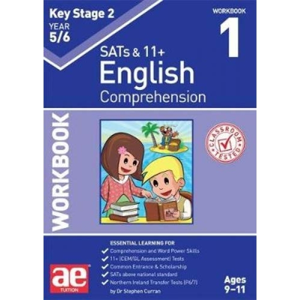 KS2 English Comprehension Year 5/6 Workbook 1  Paperback / softback 2018
