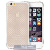YouSave Accessories iPhone 6 / 6s Air Cushion Gel Case - Clear