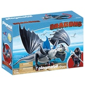 Playmobil DreamWorks Dragons Drago and Thunderclaw