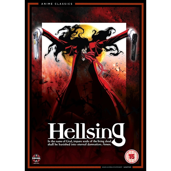 Hellsing The Complete Original Series Collection DVD