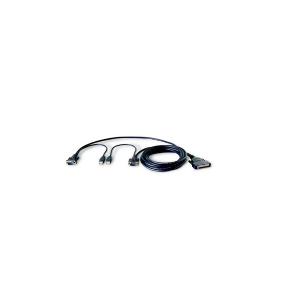 Image of PRO3 Dual-Port (Micro Cabling) USB KVM Cable 1.8m