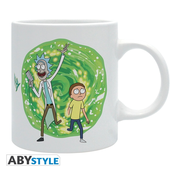 Rick And Morty - Portal White Mug