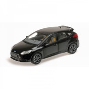 2011 Ford Focus ST Black Metallic Minichamps 1:18 Scale Diecast