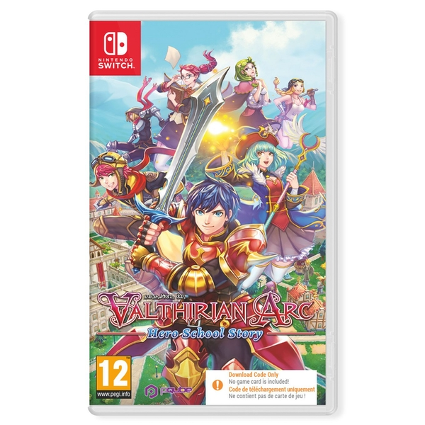 Valthirian Arc Hero School Story Nintendo Switch Game [Code in a Box]