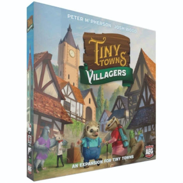 Tiny Towns: Villagers Expansion Board Game