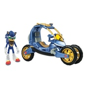 Sonic Boom Blue Force One Transforming Bike - Damaged Packaging