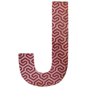 Letter J Wall Plaque