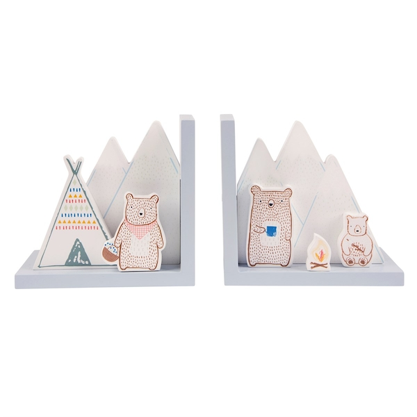 Sass & Belle Bear Camp Bookends
