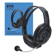 Evo Labs HP02 USB Gaming Headset with Mic