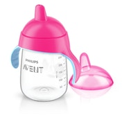 Philips Avent Sip No Drip Spout Cup (340 ml, Pink)
