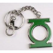 Green Lantern 4.5cm Shaped Colour Keychain