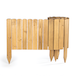 Wooden Spiked Lawn Edging   M&W 30cm - Image 3