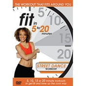 Fit In 5 To 20 Minutes: Street Dance Workout DVD