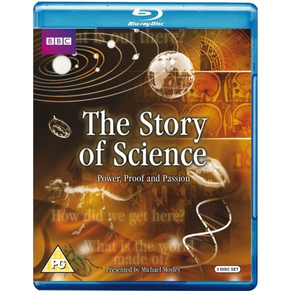 The Story of Science Blu-Ray
