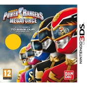 Power Rangers Megaforce Game 3DS