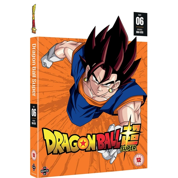 Dragon Ball Super Part 6 (Episodes 66-78) DVD