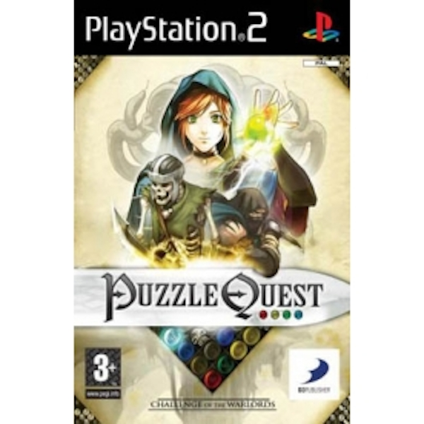 Puzzle Quest Challenge Of The Warlords Game PS2