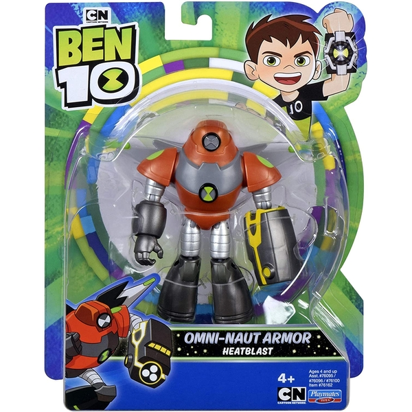 Space Armor Heatblast (Ben 10) Action Figure