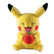 Pokemon Pikachu with Apple Plush Toy
