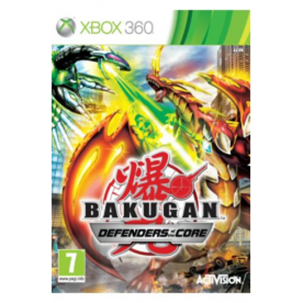 Bakugan Battle Brawlers 2 Defender Of The Core Game Xbox 360