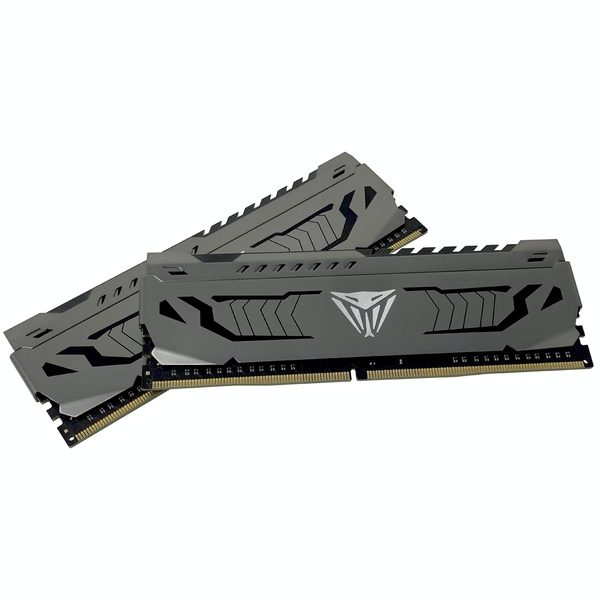 Patriot Viper Steel 16GB (2x8GB) DDR4 PC4-25600C16 3200MHz Dual Channel Kit (PVS416G320C6K)