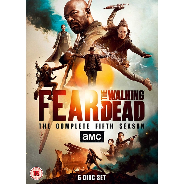 Fear the Walking Dead Season 5 2019 DVD