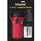 Infapower F014 6Volt Lantern Torch Red