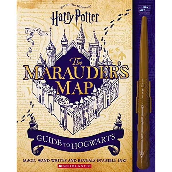 Harry Potter: The Marauder's Map Guide to Hogwarts  Hardback 2018