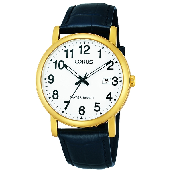 Lorus RG836CX9 Mens Classic Gold Plated Watch