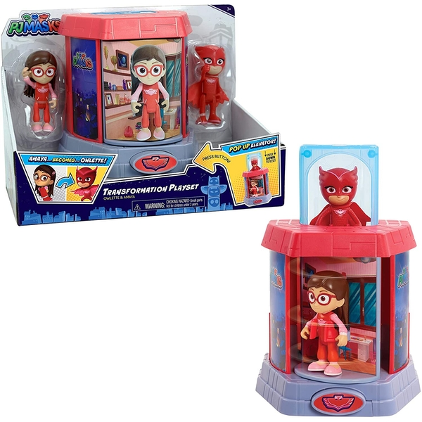 Owlette Transforming Figures (PJ Masks)  Figures Playset