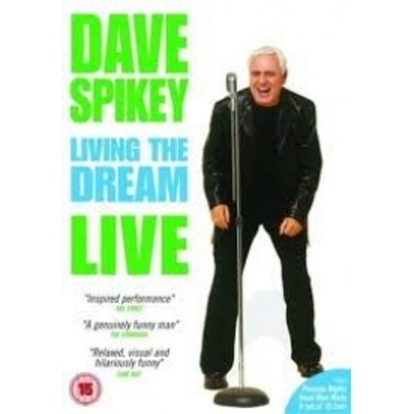 Dave Spikey Living The Dream Live DVD