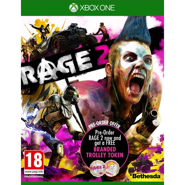 Rage 2 Xbox One Game (with Trolley Token)