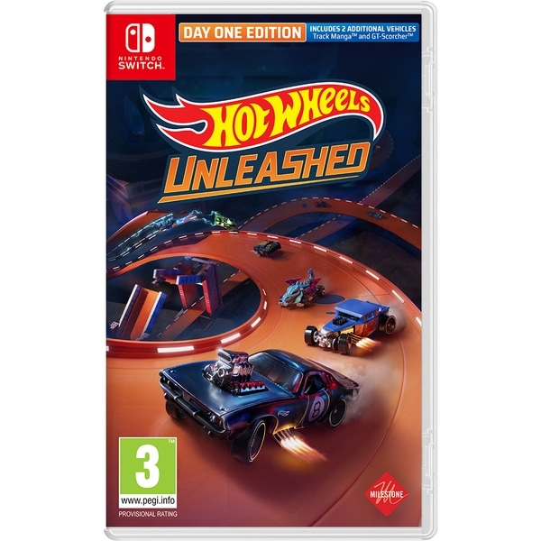 Hot Wheels Unleashed Day One Edition Nintendo Switch Game