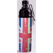 Long Paws Union Jack 750ml Pet Water Bottle