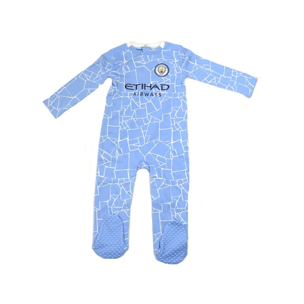 6-9 Months Man City Sleep Suit
