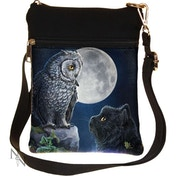 Purrfect Wisdom Shoulder Bag