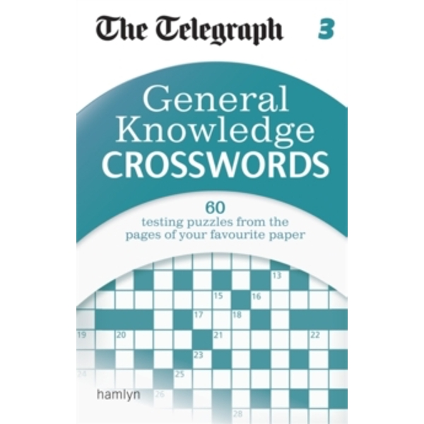The Telegraph: General Knowledge Crosswords by The Telegraph (Paperback, 2015)