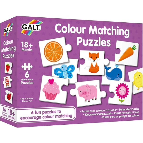 Colour Matching Learning Puzzles