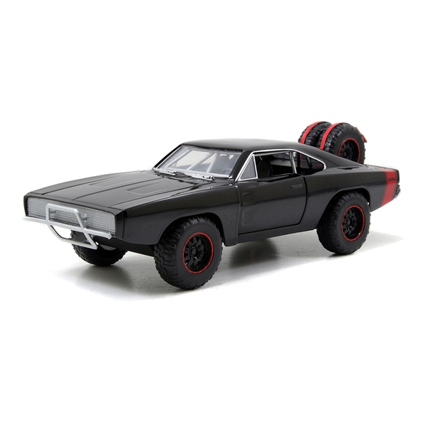 Fast & Furious - Fast & Furious - 7 Dom's 1970 Dodge Charger R/T Off-road Muscle Die-cast Toy Car