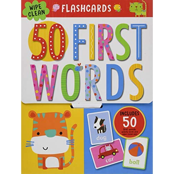 First 50 Words Flashcards  Novelty book 2018