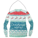 Christmas Wishes Jumper Hanging Decoration