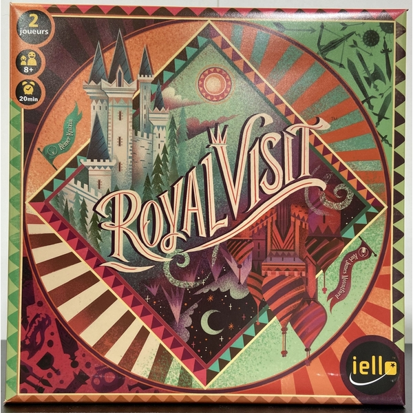 Royal Visit Board Game