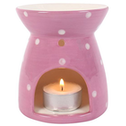 Polka Splodge Pink Oil Burner