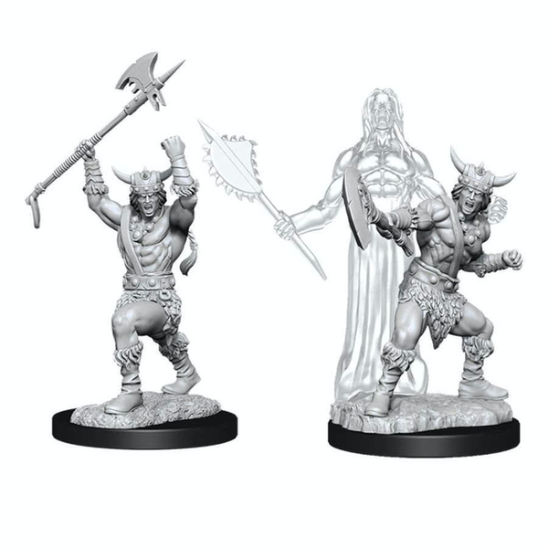 Dungeons & Dragons Nolzur's Marvelous Unpainted Miniatures (W11) Male Human Barbarian